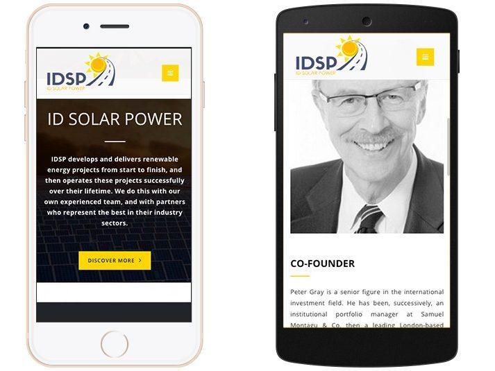 idsp mobile web version