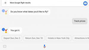 google-assitant-flights