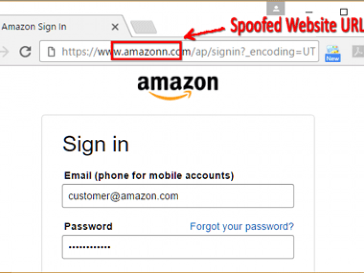 how to make a phishing link