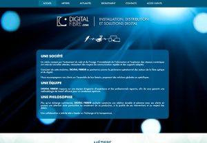 digital fibre custom website