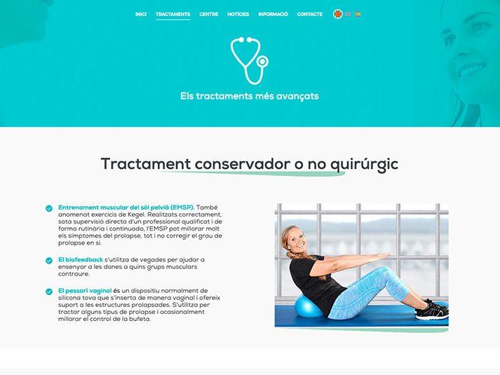 urogynecology custom web development