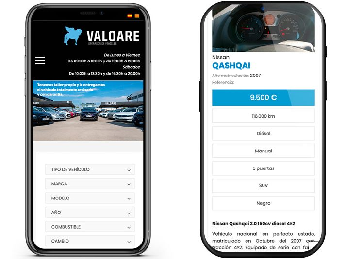 valoare wordpress custom