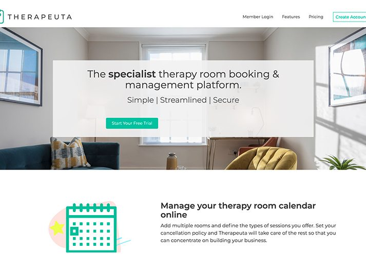 therapeuta room booking